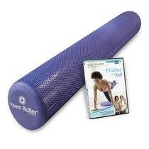 Rouleau en mousse Foam Roller Deluxe et DVD Pilates on a Roll de Stott