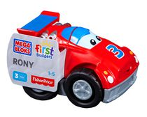 Mega Bloks – Tiny'n Tuff Buildables  – Racing Rony