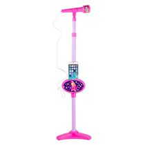 Microphone avec support Shopkins de Sakar