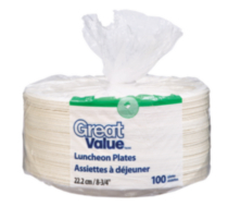 Great Value Luncheon Plates