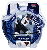 Figurine de 6 po Connor McDavid Coupe du monde de hockey