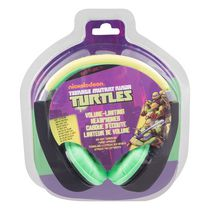 Sakar Teenage Mutant Ninja Turtles Kid-Safe Headphones