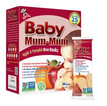 Hot-Kid Baby Mum-Mum Apple Rice Rusks