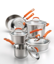 Rachael Ray Non-stick Cookware Set, 10 Piece