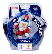 "Imports Dragon World Cup of Hockey Andrei Markov 6"" Figure"