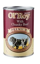 Wal-Mart Ol'Roy Premium Chunky Beef Wet Dog Food