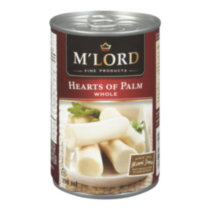 M'Lord Whole Hearts of Palm