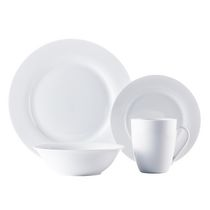 hometrends Rim 16 Piece Dinner Set