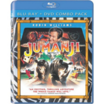 Jumanji (Blu-ray + DVD) (Bilingual)