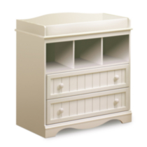 South Shore Savannah Collection Changing Table White