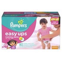 Pampers Easy Ups Girls' Training Pants Super Pack 2T-3T