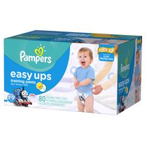 Pampers Easy Ups Boys' Training Pants Super Pack 2T-3T