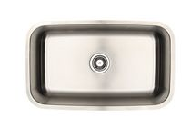 Eviers Asil Sinks North American 30-Inch Stainless Steel 18 Gauge Single Basin Kitchen Sink