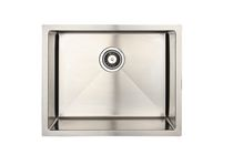 Eviers Asil Sinks Handmade 22-Inch Stainless Steel 18 Gauge Single Basin Kitchen Sink