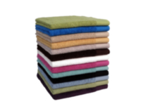 Mainstays Solid Dyed Bath Towels White