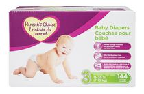 Parent's Choice Baby Diapers Giant Pack Size 4