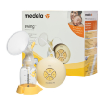 Pompe tire-lait électrique Swing de Medela pour expression simple