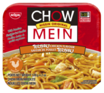Chow Mein Teriyaki Chicken Noodles