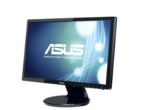 "Asus VE208T Black 20"" 1600x900 5ms LED Backlight Widescreen LCD Monitor w/Speakers"