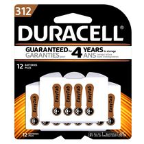Duracell 312 Hearing Aid 1.45V Zinc Air Batteries