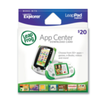 LeapPad Explorer $20 Download Card - English Version