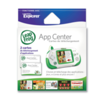 Leapster Explorer App Center Download Codes - French Version