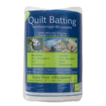 Extra Thick Quilt Batting, double