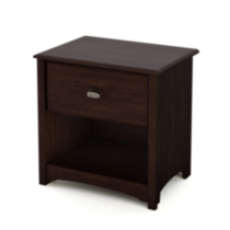 South Shore® Logan Collection Night Stand, Havana Finish