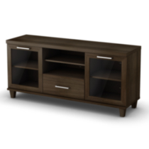 South Shore Adrian TV Stand Chocolate