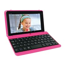 "RCA 7"" 16GB Android Tablet with Keyboard Pink"