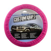 Stretch Neoprene Pink Steering Wheel Cover