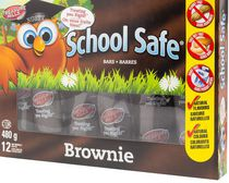 Barres de brownies de School Safe