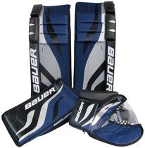 Bauer 27-inch Goalie Pad Set