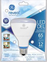 GE Reveal LED 12W R30 1PK