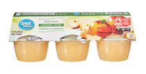 Great Value Apple Snack Sweetened Cups