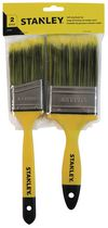 Stanley 2-piece Soft Grip Paint Brush Set