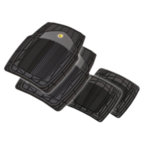 Pants Saver Tribal Car Mat Four-Piece Set, Black