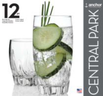 Central Park Beverage Set 12 Pack