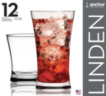 Linden 12 Pack Beverage Set