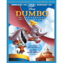 Dumbo (70th Anniversary Edition) (Blu-ray + DVD) (Bilingual)