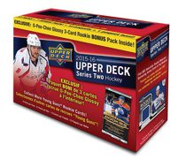 Upper Deck 2015-16 Series Two Hockey Mega Box Trading Card Game