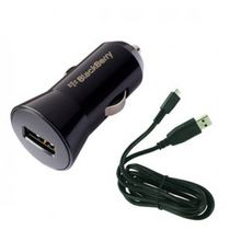 BlackBerry Car Charger Micro USB Black