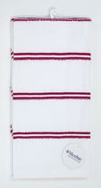 Home Trends 2-pack kitchen towels with Microban Red