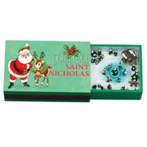 Mr. Christmas Melodies Jolly Old St Nicholas Musical Matchbox