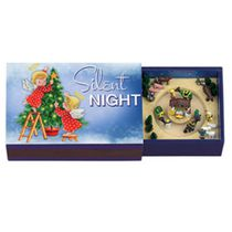 Mr. Christmas Melodies Silent Night Matchbox