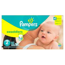 Pampers Couches Swaddlers format Supers Taille 2