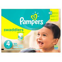 Pampers Couches Swaddlers format Supers Taille 4
