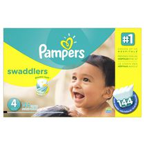 Pampers Swaddlers Diapers Economy Pack Plus Size 4