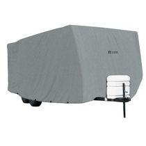 "Classic Accessories PolyPro 1 Travel Trailer Cover, Fits 20' to 22'L trailers up to 118"" Max H"