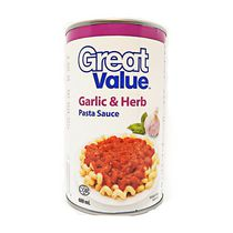 Great Value Garlic & Herb Pasta Sauce
